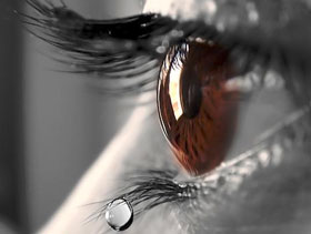 Dry Eyes Teardrop - Eye Disorders